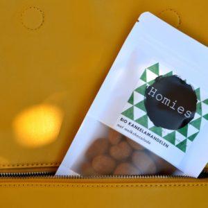 Homies Bio Kaneelamandelen Melkchocolade