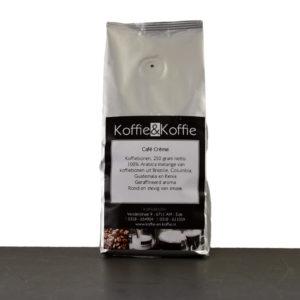 Koffie&Koffie koffiebonen cafe creme 250 gram