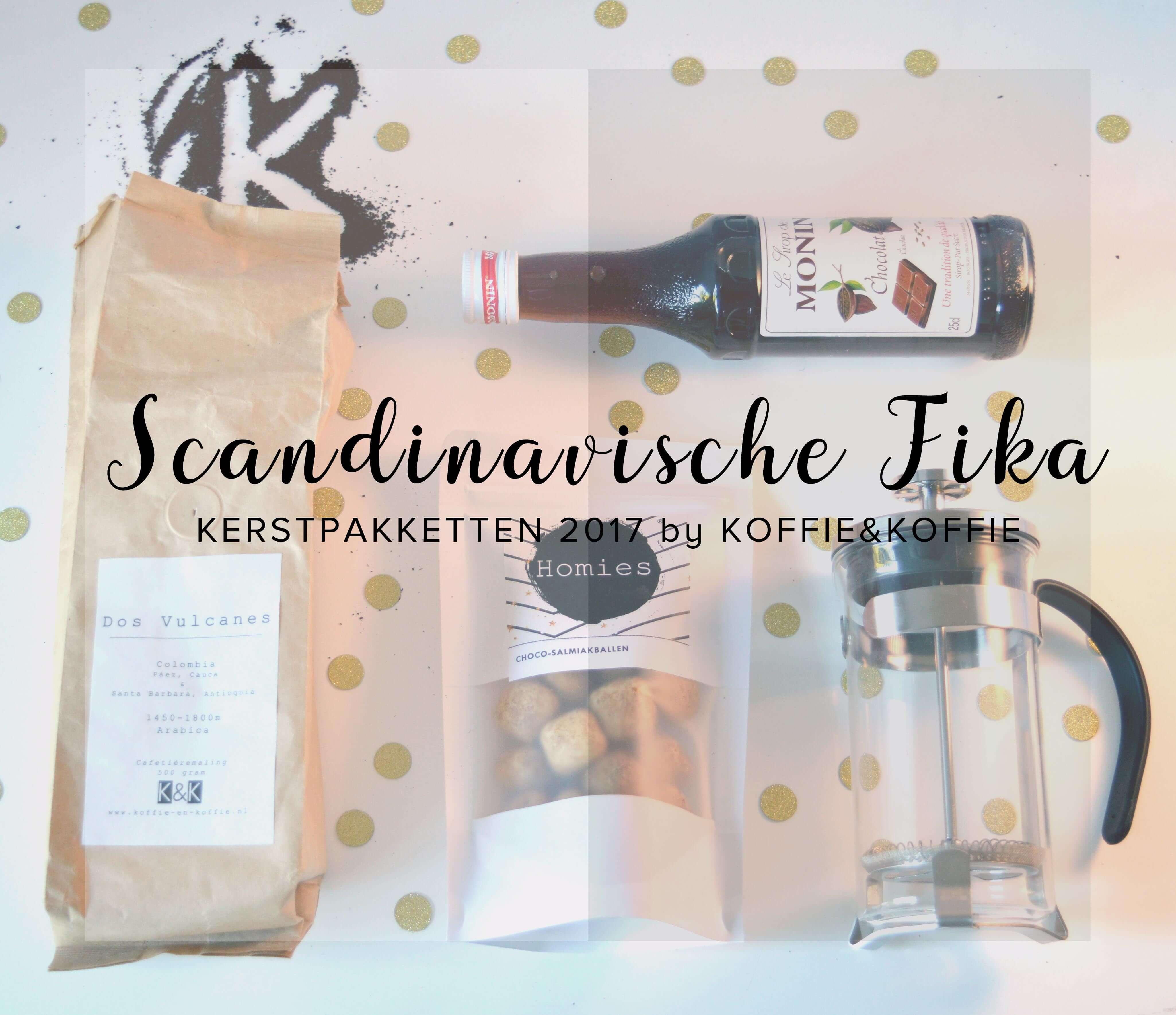 K&K Koffie Kerstpakket Scandinavische FIKA