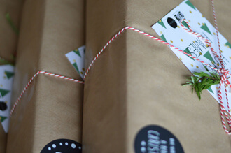Giftbox - Koffie cadeau kerstpakket
