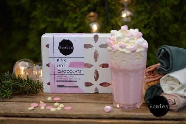 HOMIES Pink Hot Chocolate - Roze Chocolademelk
