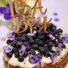 Babyshower taart - Genderrevealtaart