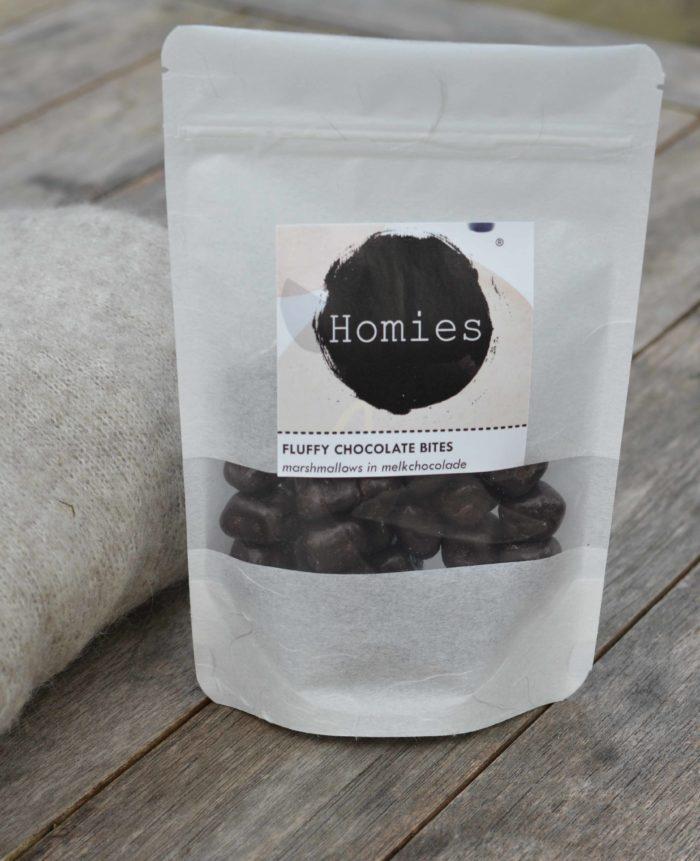 Fluffy CHocolate Bites Chocolade marshmallows