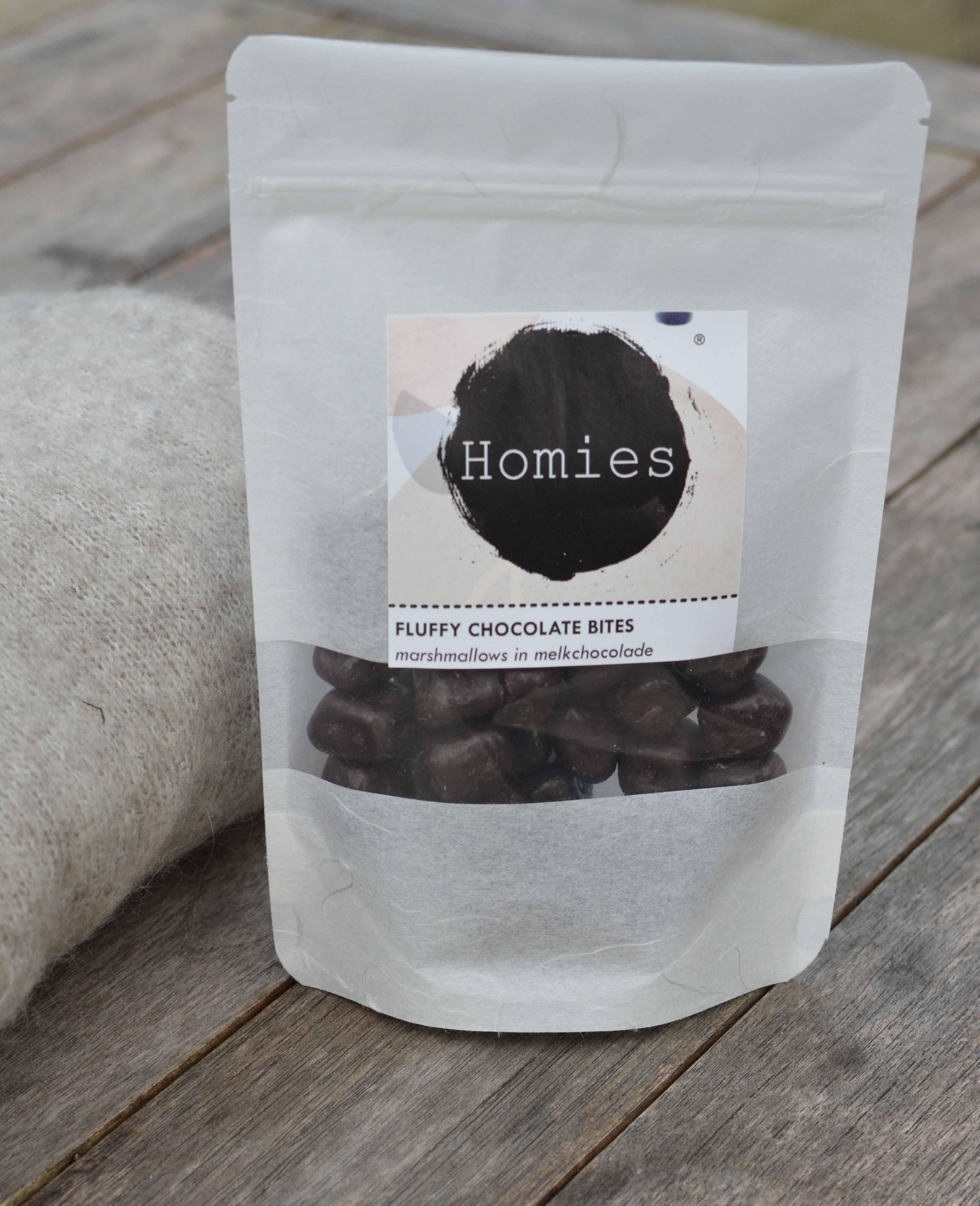 Fluffy Chocolate Bites